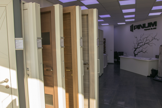 Noul Showroom Pinum din Iași
