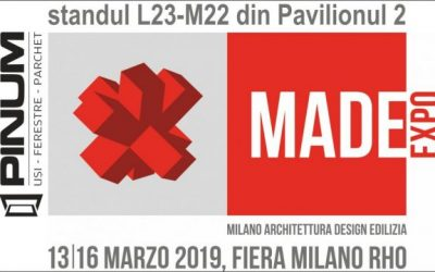 Participăm la MADE EXPO Milano
